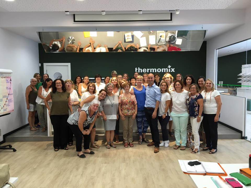 Charla Motivacional Para La Empresa Thermomix en Valencia
